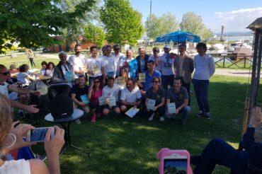 Team Race meteor al Trasimeno del 22 aprile – una splendida giornata