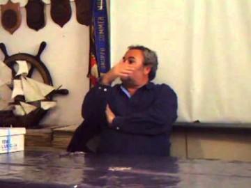 Flavio Favini e Enrico Negri parlano del Meteor - 10-conduzione con vento forte, genoa (catenaria