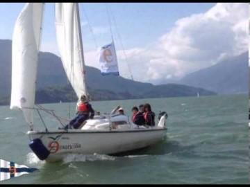 Gita scolastica in barca a vela 22 aprile 2013 - Gera Lario