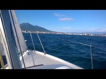 A vela nel golfo di Torre Annunziata - Scuola vela CNTA