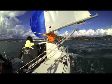Sailing with meteor - FRINGUELLO MANNARO